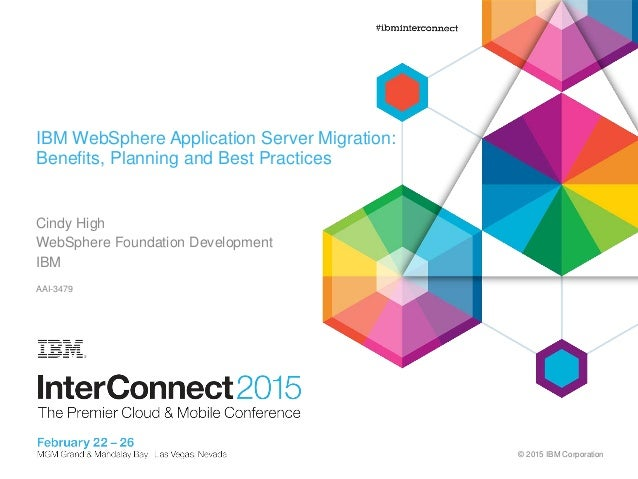 websphere application server migration best practices and sources