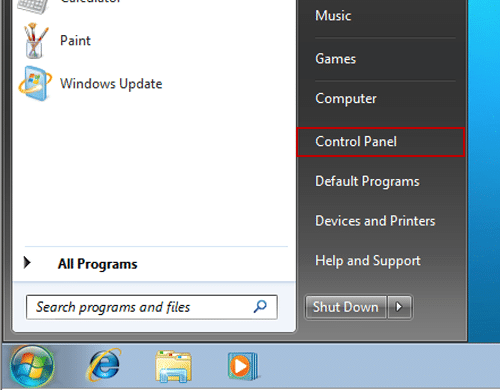 windows 7 how to control startup application