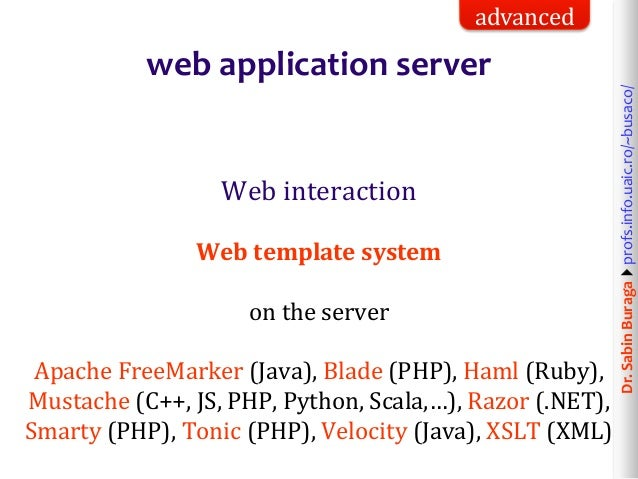 what is php web application development