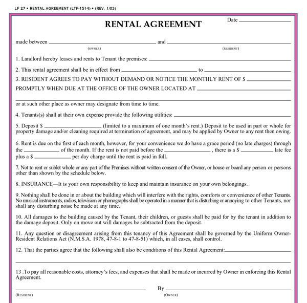 how to have the best rental application