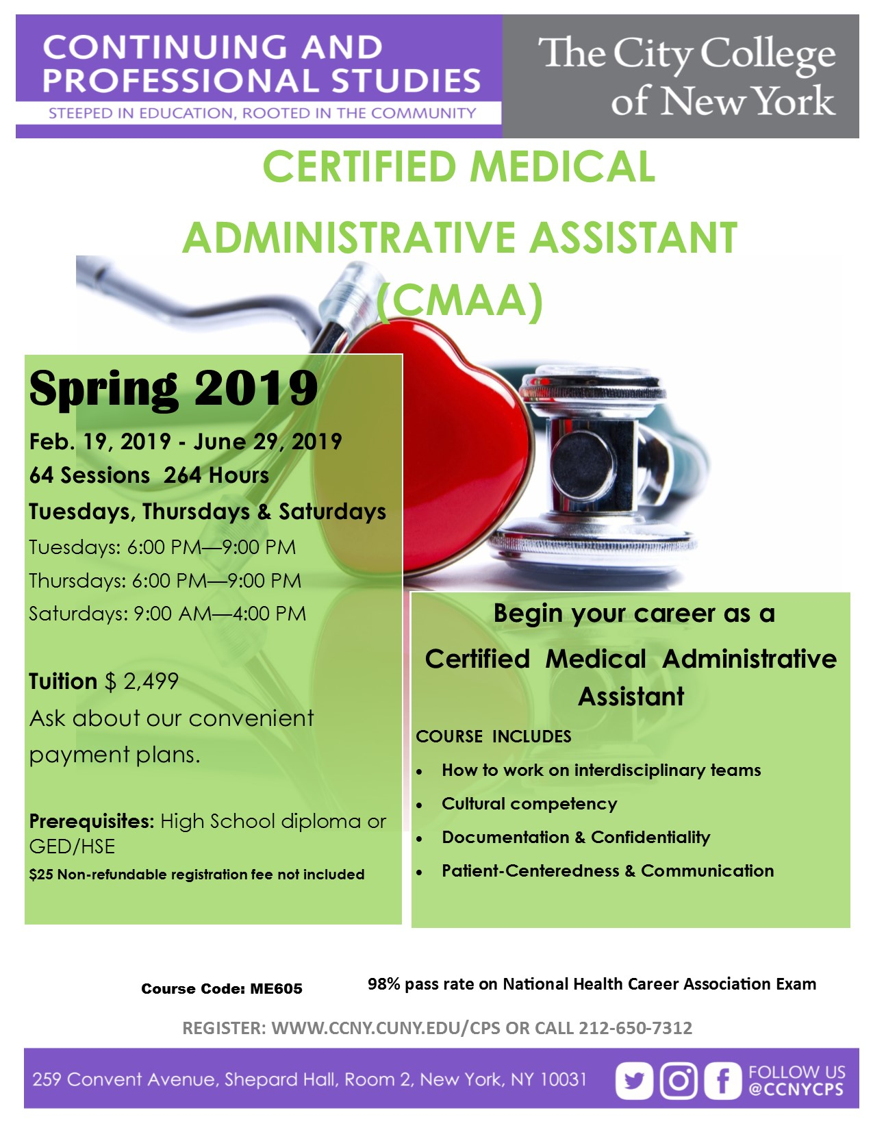 certified medical assistant application form