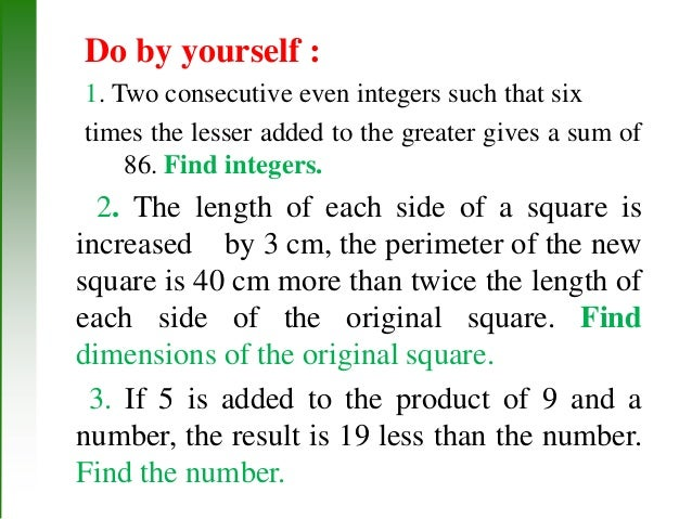 applications of absolute value equations