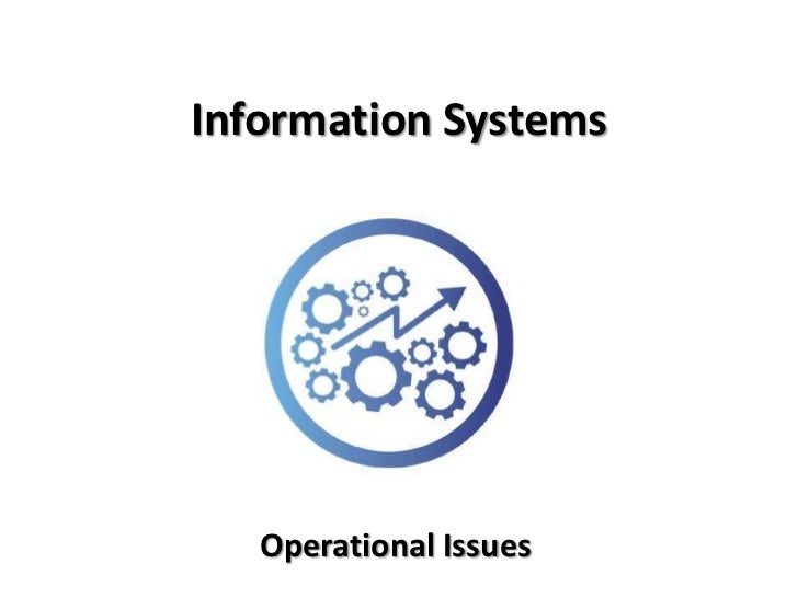 applications of operational information systems to business