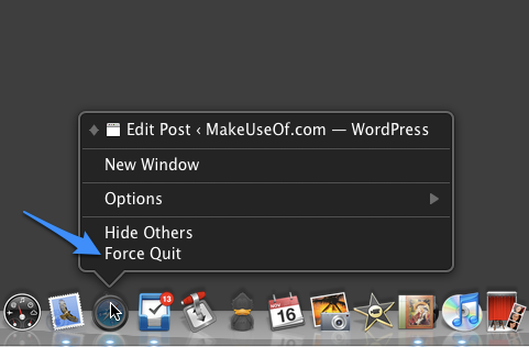control to quit applications on windows