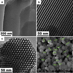 mesoporous silica nanoparticles for drug delivery and biosensing applications
