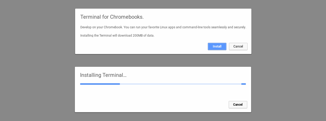 is the a torrent application for chrome os