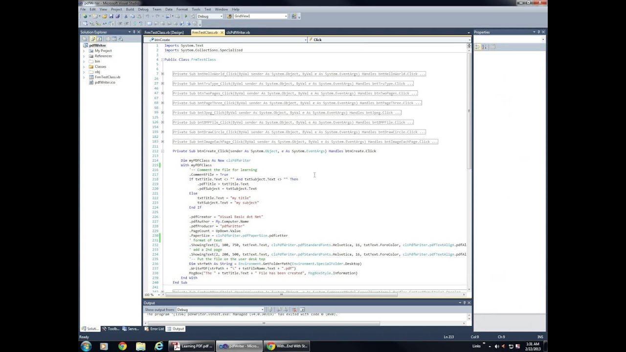 how to build windows 7 application with visual basic