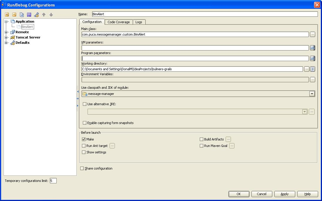 what is java application classpath