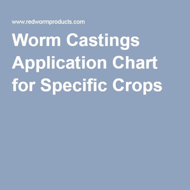 worm castings application in a vegetable garden
